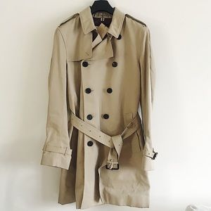Burberry authentic waterproof trench coat